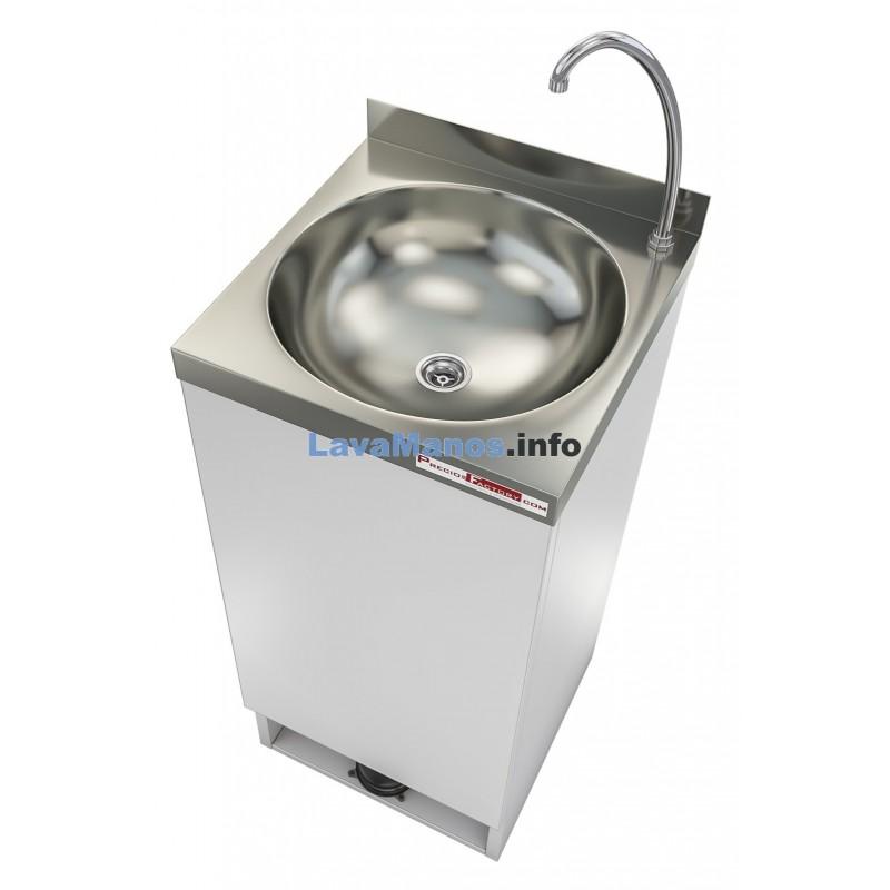 Lavamanos portatil autonomo clinic 40x40 - Lavabo portatil ...