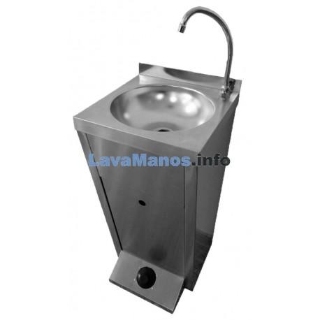 Lavamanos autonomo inoxidable xs for Lavamanos sin instalacion
