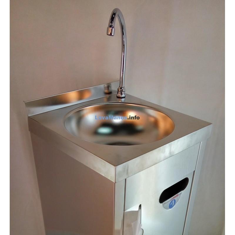 Lavamanos autonomo inoxidable extra 8 l - Lavamanos sin instalacion ...