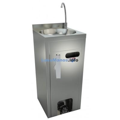 Lave-mains sur pied autonome et portable