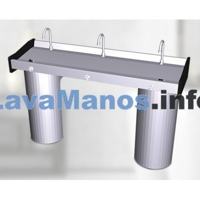 Lave main inox mural collectif