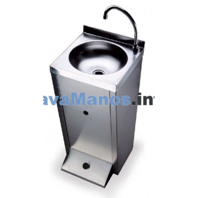 PORTABLE ELECTRIC STEEL SINKS AUTONOMO
